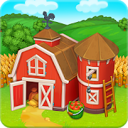 Farm Town: Happy farming Day & food farm game City‏