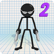 Gun Fu: Stickman 2 - Fun Shooting Games‏