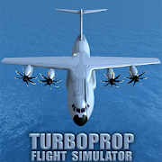 Turboprop Flight Simulator 3D‏