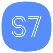 S7/S8 Launcher for Galaxy S/A/J/C, theme icon pack