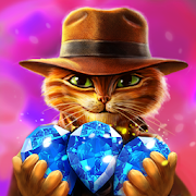 Indy Cat - Match 3 Puzzle Adventure‏