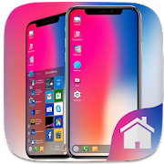 Phone X Theme For Computer Launcher‏