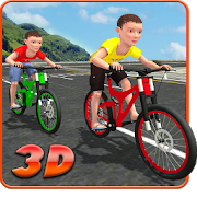 Kids Bicycle Rider Street Race‏