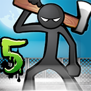 Anger of stick 5 : zombie‏