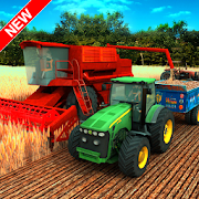 Village Tractor Farming: GBT New Farming Games 3D