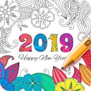 Coloring Book 2019‏