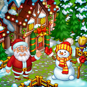 Farm Snow: Happy Christmas Story With Toys & Santa‏ APK