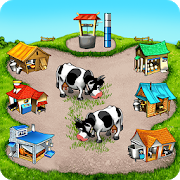 Farm Frenzy Free: Time management game‏