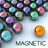 Magnetic balls bubble shoot