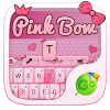Pink Bow GO Keyboard Theme