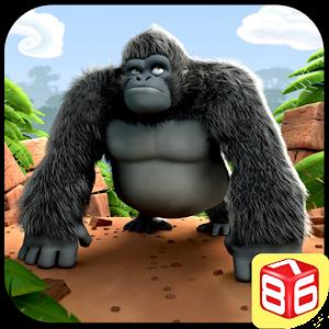 غوريلا تشغيل - الغابة البرية APK