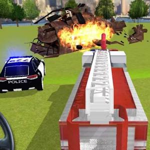 النار الإنقاذ 911
