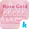 Rose Gold Keyboard Theme