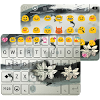 Ink Lotus Emoji Keyboard Theme APK