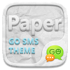 GO SMS PRO PAPER THEME
