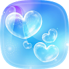 Bubble Live Wallpaper with Moving Bubbles Pictures APK icon