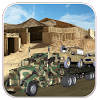 Army Cargo Truck Driving