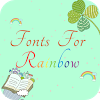 Fonts For Rainbow