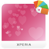 XPERIA™ Pink Hearts Theme
