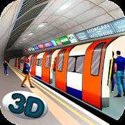 لندن مترو أنفاق قطار محاكي