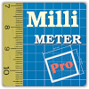 Millimeter Pro - ruler and protractor on screen