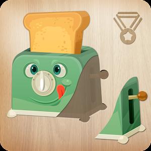 أحجية للأطفال - مطبخ المنزل