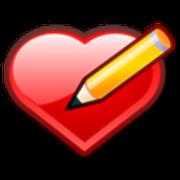ارسم اسمك بالقلوب