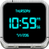 Digital Clock Live Wallpaper APK