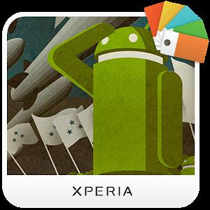 XPERIA™ Probot Theme