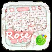 Rose GO Keyboard Theme & Emoji