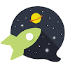 Chat Rooms, Avatars, Date - Galaxy APK icon