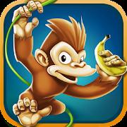 جزيرة الموز- لعبة القرد العداء