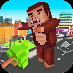 Cube Kong: Gorilla Simulator
