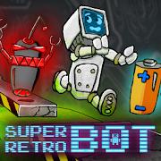 Super Retro Bot platform game