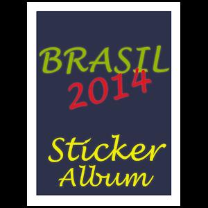 Brazil 2014 Stickers