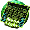 Neon Light Emoji Kika Keyboard APK icon