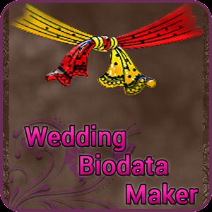 Wedding Bio Data Maker