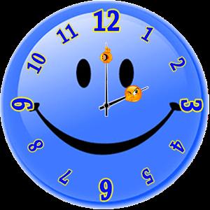Smiley Analog Clock