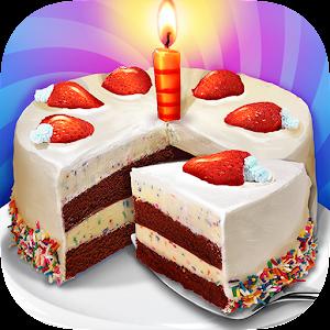 Gâteau d'anniversaire sucré
