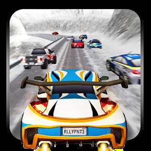 سباق ثلج الشتاء رالي السيارات