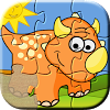 Dino Puzzle Games for Kids APK