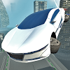 Futuristic Flying Car Driving APK