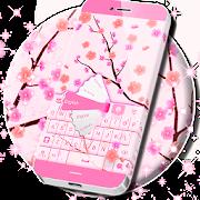 زهور الوردي GO لوحة المفاتيح