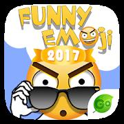 Keyboard Sticker Funny emoji