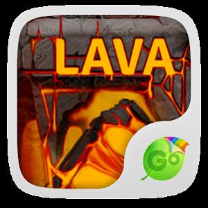 Lava Go Keyboard Theme