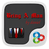 Being A Man GO Launcher Theme APK
