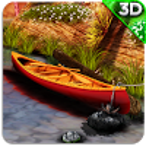 3D Boat Scenery Live Wallpaper
