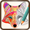 Foxy Coloring Book Art Studio