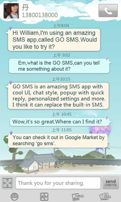 go sms pro paid themes