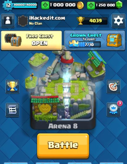 Download clash royale v1. 3. 2 coins hack v2 apk 1. 3. 2 download.